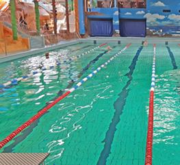 Verruimingen voor binnen zwembad